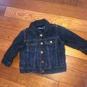 NWOT Baby Gap lined Jean jacket